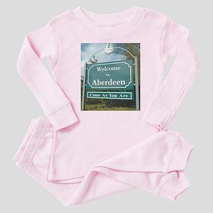 Kurt Cobain Memorial Baby Pajamas