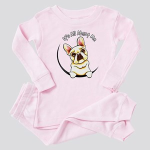 Fawn Frenchie IAAM Baby Pajamas
