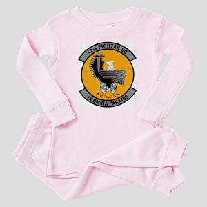 12th Fighter Baby Pajamas