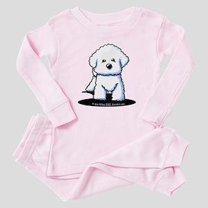Bichon Frise II Baby Pajamas
