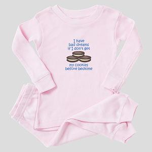 COOKIES BEFORE BEDTIME Baby Pajamas