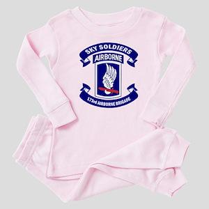 Offical 173rd Brigade Logo Baby Pajamas