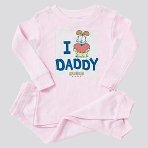 Baby Odie &Quot;Heart Daddy&Quot; Baby Pajamas