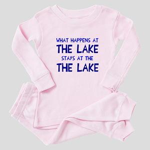 Happens at lake stays Baby Pajamas