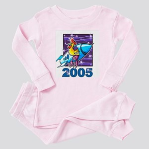 Space Rooster Baby Pajamas