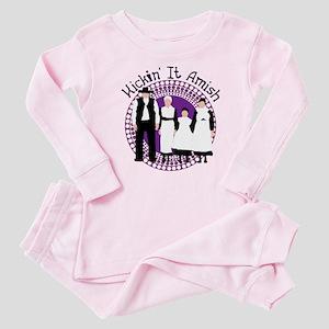 Riyah-Li Designs Kickin' It Amish Baby Pajamas