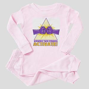 Wonder Twins Baby Pajamas
