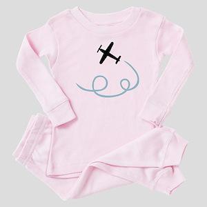 Plane aviation Baby Pajamas
