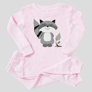 Raccoon Baby Pajamas