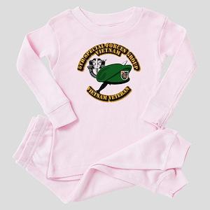 SOF - 5th SFG Dagger - DUI Baby Pajamas