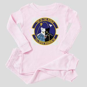 12th Space Warning Baby Pajamas