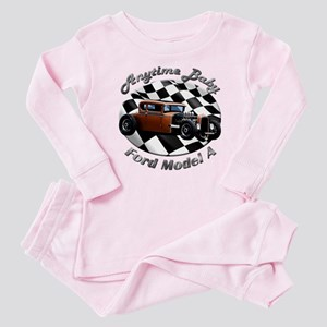 Ford Model A Hotrod Baby Pajamas