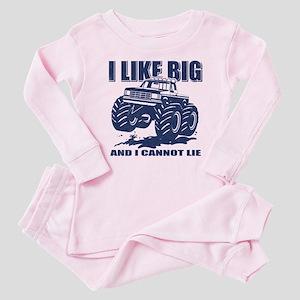 I Like Big Trucks Baby Pajamas