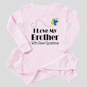 Down Syndrome Brother Baby Pajamas