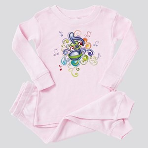 Music in the air Baby Pajamas