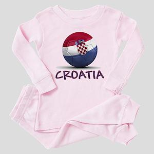 Team Croatia Baby Pajamas