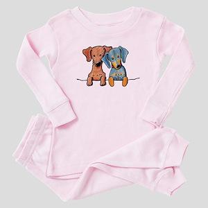 Pocket Doxie Duo Baby Pajamas
