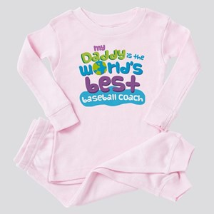 Baseball Coach Gifts for Kids Baby Pajamas