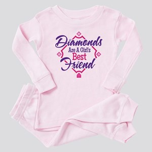 Diamonds Baby Pajamas
