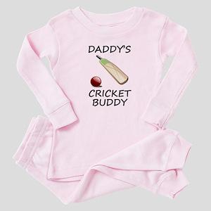 Daddys Cricket Buddy Baby Pajamas