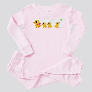 Distracted Duck Baby Pajamas