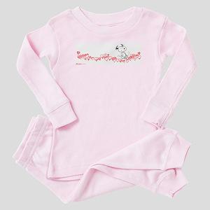 Happy Hearts Baby Pajamas