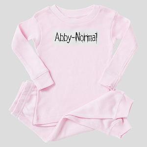Abby Normal 2 Baby Pajamas