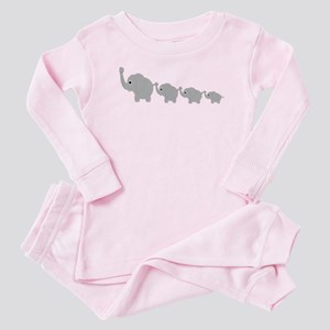 Elephants Design Baby Pajamas