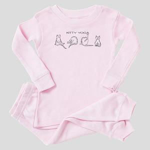 Kitty Yoga Baby Pajamas