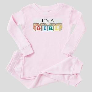 It's A Girl Baby Pajamas