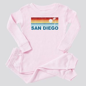 Palm Tree San Diego Baby Pajamas