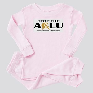 Aging Communist Lawyers Union Baby Pajamas