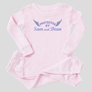 SUPERNATURAL Sam and Dean blue Baby Pajamas