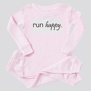 Run Happy Baby Pajamas