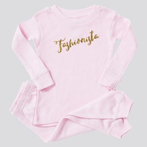 Golden Look Fashionista Baby Pajamas