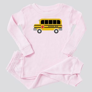 School Bus Baby Pajamas