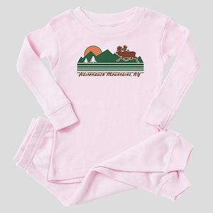 Adirondack Mountains NY Baby Pajamas