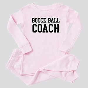 BOCCE BALL Coach Baby Pajamas