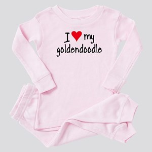 I LOVE MY Goldendoodle Baby Pajamas