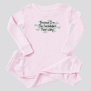 Because Sociologist Baby Pajamas