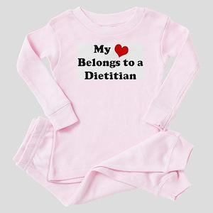 Heart Belongs: Dietitian Baby Pajamas