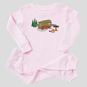 Camping Trailer Baby Pajamas