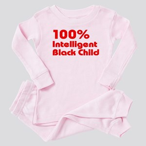 100% Intelligent Black Child Baby Pajamas