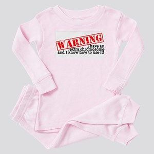Warning Baby Pajamas