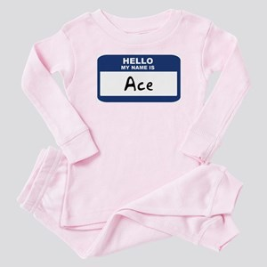 Hello: Ace Baby Pajamas