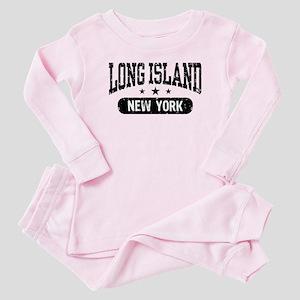 Long Island New York Baby Pajamas