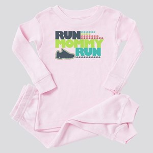 Run Mommy Run - Shoe - Baby Pajamas