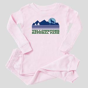 Yellowstone National Park Baby Pajamas