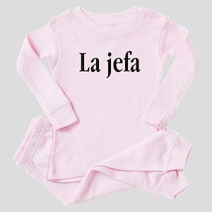 La jefa Baby Pajamas