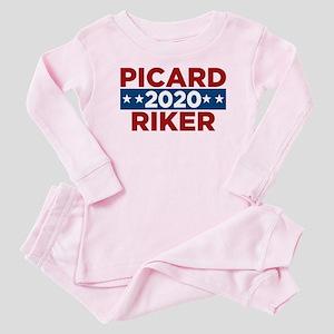 Star Trek Picard Riker 2020 Baby Pajamas